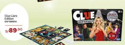 Oferta de Clue Liars Edition por S/ 89,9
