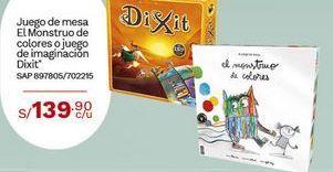 Oferta de Juego de mesa El Monstruo de colres o juego de ImagmacIon Dixit por S/ 139,9