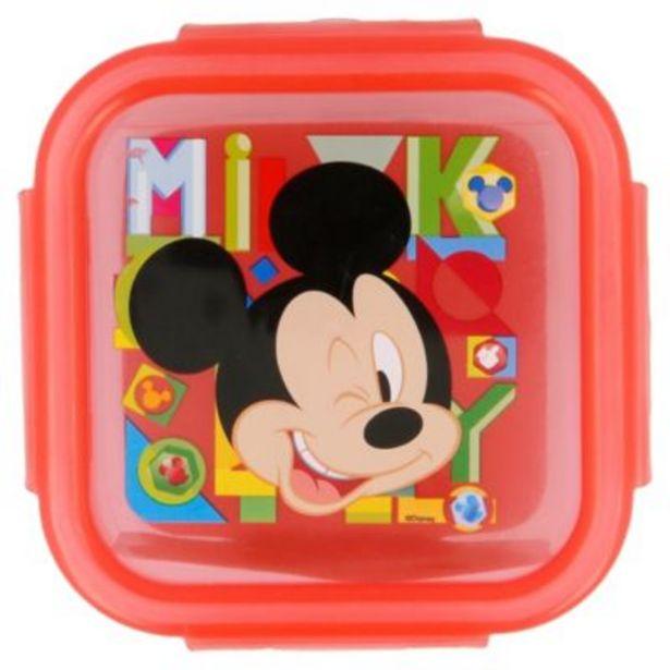 Oferta de Taper Mickey 290ml Amarillo por S/ 2,9