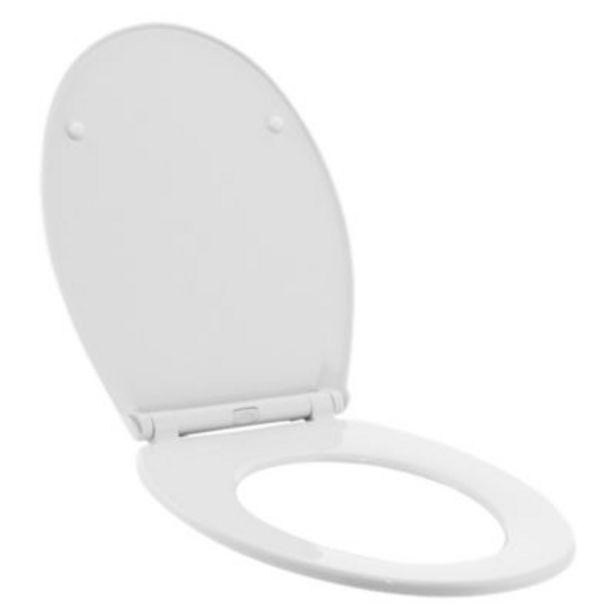 Oferta de Asiento Elongado Universal WC Blanco por S/ 14,9