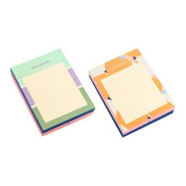 Oferta de Set Tacos de Papel 100 hojas por S/ 13,9