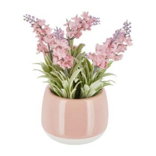 Oferta de Maceta Cerámica Flores M por S/ 24,9