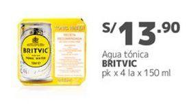 Oferta de Agua Britvic por S/ 13,9