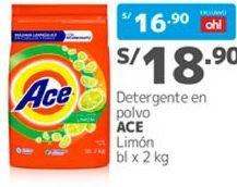 Oferta de Detergente en polvo Ace por S/ 28,9