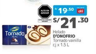 Oferta de Helados D'onofrio por S/ 21,3