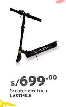 Oferta de Scooter eléctrico por S/ 699