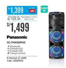 Oferta de Parlantes bluetooth Panasonic por S/ 1499