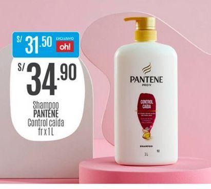 Oferta de Shampoo Pantene por S/ 34,9