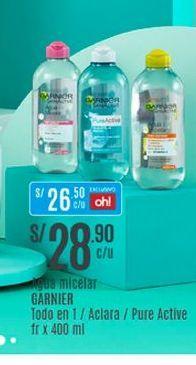 Oferta de Gel hidratante Garnier por S/ 28,9