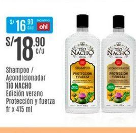 Oferta de Shampoo Tio Nacho por S/ 18,9