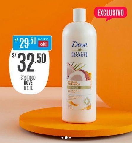 Oferta de Shampoo Dove por S/ 32,5