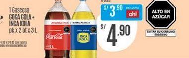 Oferta de Coca-Cola por S/ 4,9