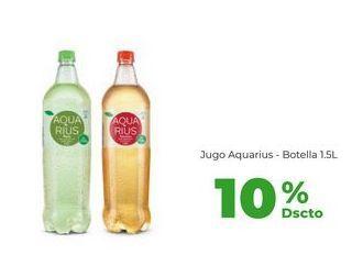 Oferta de Jugo Aquarius - Botella 1.5L por