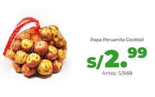 Oferta de Papas por S/ 2,99