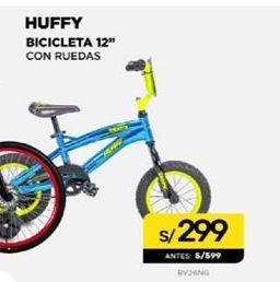 Oferta de Bicicletas 12'' Huffy por S/ 299