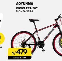 Oferta de Bicicletas 26'' Aoyunma por S/ 479