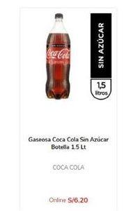 Oferta de Coca-Cola por S/ 6,2