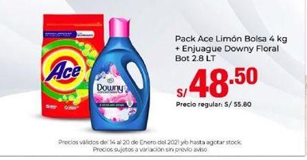 Oferta de Detergente Ace por S/ 48,5