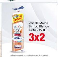 Oferta de Pan de molde Bimbo por