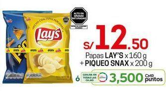 Oferta de Papas Lay's por S/ 12,5
