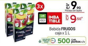Oferta de Jugo de frutas Frugos por S/ 9,5