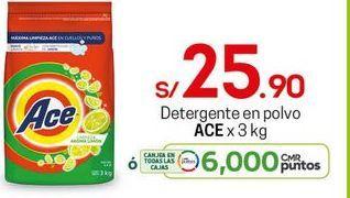 Oferta de Detergente en polvo Ace por S/ 25,9