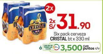 Oferta de Cerveza Cristal por S/ 31,9