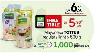 Oferta de Mayonesa Tottus por S/ 5,9