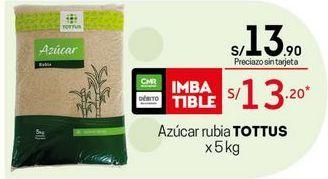 Oferta de Azúcar rubia Tottus por S/ 13,2