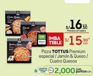 Oferta de Pizza Tottus por S/ 15,9