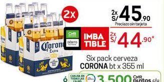 Oferta de Cerveza Corona por S/ 44,9