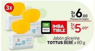 Oferta de Jabón Tottus por S/ 5