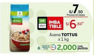 Oferta de Avena Tottus por S/ 6,5