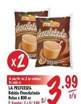 Oferta de Chocolatada La Preferida por S/ 3,99