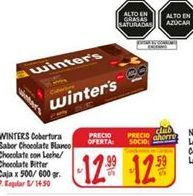 Oferta de Galletas Winter's por S/ 12,99
