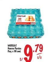 Oferta de Huevos Merkat por S/ 9,79