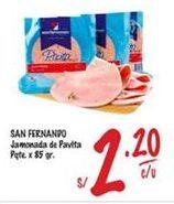 Oferta de Jamón San Fernando por S/ 2,2