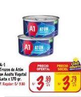 Oferta de Atún en conserva A1 por S/ 3,99