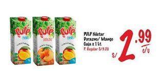Oferta de Néctar Pulp por S/ 2,99