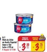 Oferta de Filetes de atún A1 por S/ 3,99