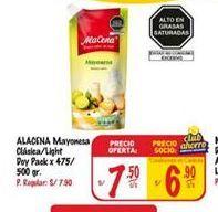 Oferta de Mayonesa Alacena por S/ 7,5