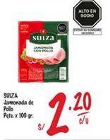 Oferta de Jamón Suiza por S/ 2,2