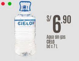 Oferta de Agua Cielo por S/ 6,9