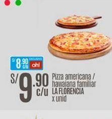 Oferta de Pizza La Florencia por S/ 9,9