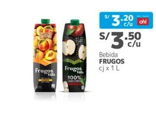 Oferta de Néctar Frugos por S/ 3,5