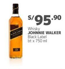 Oferta de Whisky Johnnie Walker por S/ 95,9