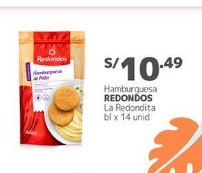 Oferta de Hamburguesas Redondos por S/ 10,49