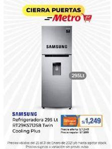 Oferta de Refrigeradoras Samsung por S/ 1249