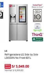 Oferta de Refrigeradoras Lg por S/ 5049