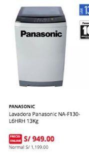 Oferta de Lavadoras Panasonic por S/ 949